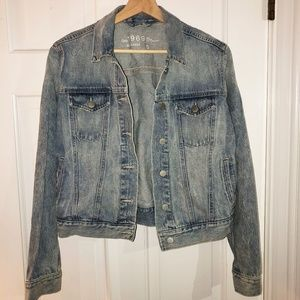 GAP Jean Jacket 1969 Reagan Wash